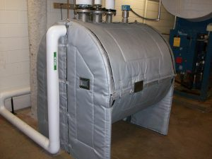 Mechanical Insulation for Equipment - JMU Condensate Jacket